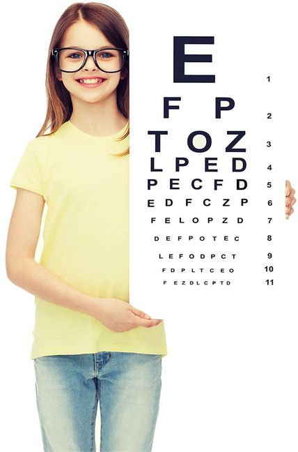 Paediatric Eye Exams